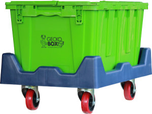 GECKOBOXES ARRIVE ECO-CLEANED Additional Weeks Only $40 Per Package